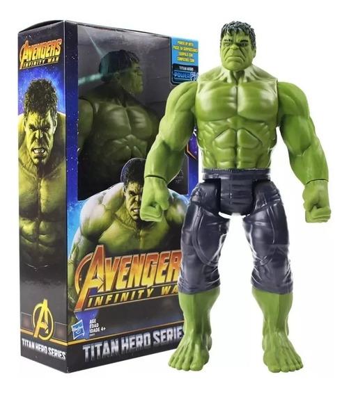 Boneco Hulk Figura De Ação Titan Hero 30cm /