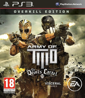 Army Of Two The Devils Cartel Ps3 Original