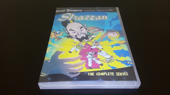 Dvd Box Shazzan - ( 4 Dvds Hanna Barbera )