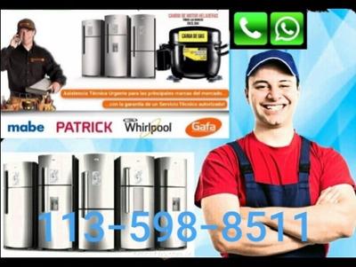 Service Heladera Carga Gas Reparacion Pinchadura Capital Fed