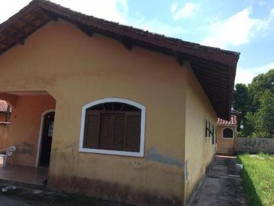Chácara Com 3 Quartos Em Itanhaém, 800 M Da Rodovia - 5055/p