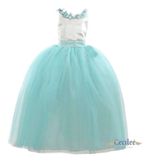 Hermoso Vestido Elegante De Ceremonia Niña Aitana