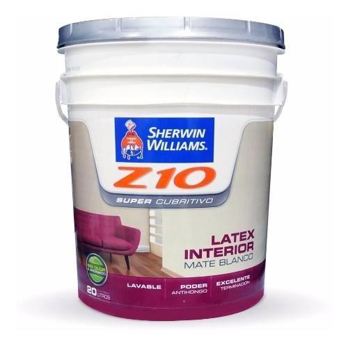 Z10 Supercubritivo Pint. Int Mate 20lt - 18 Cuotas S/interes