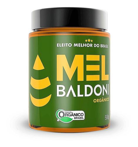 Imagem 1 de 6 de Mel Baldoni Ôrganico 500 G Pote - Eleito O Melhor Do Brasil.