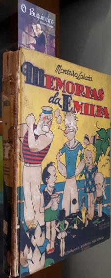 Memórias Da Emília - Monteiro Lobato - 1939