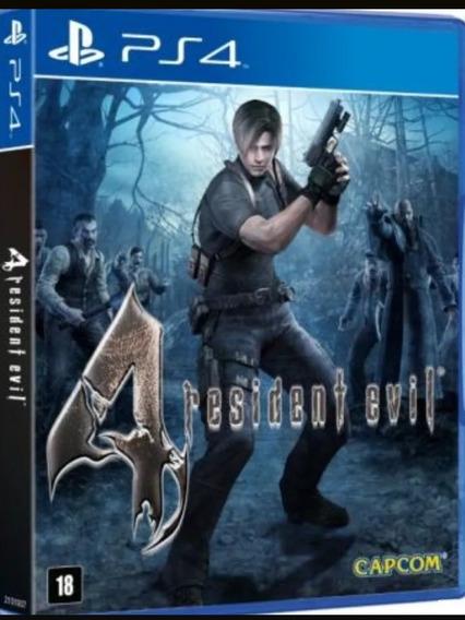 Resident Evil 4 Ps4 Envio Hoje