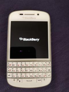 Blackberry Q10 Completo - Funcionando Mas Não Reconhece Chip