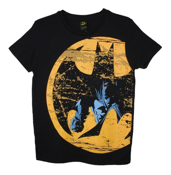 Playera Batman Luna Dc Cómics Original