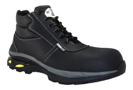 Zapato Seguridad Industrial Dielectrico Marca Wsm 2958 Litem