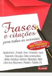 Frases E Citações Para Todas As Ocasiões Antonio Cestaro (o