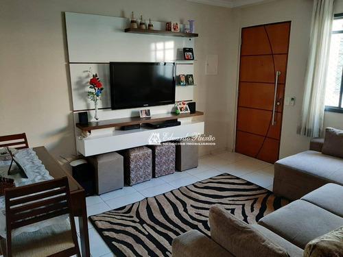 Apartamento Com 2 Dormitórios À Venda, 45 M² Por R$ 210.000,00 - Vila Rio De Janeiro - Guarulhos/sp - Ap0154