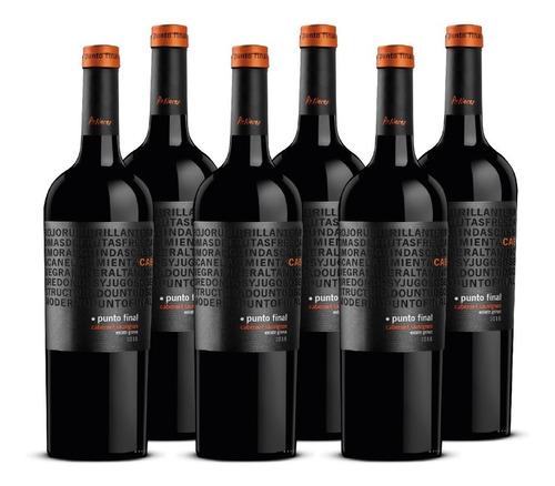 Imagen 1 de 9 de Vino Punto Final Cabernet Sauvignon 6 Botellas