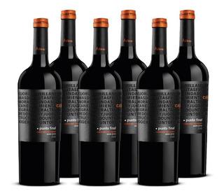 Vino Punto Final Cabernet Sauvignon 6 Botellas