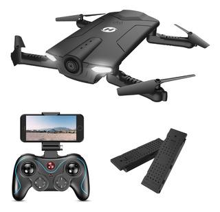 Dron Plegable Hs160 Cuadricóptero Fpv Rc 720p