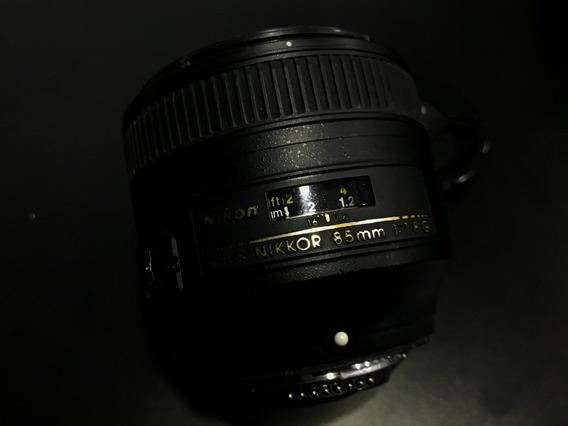 Lente Nikon 85mm F1.8