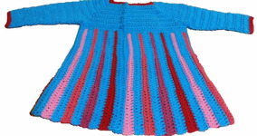Exclusivo: Sueter Para Niña Tejido A Crochet.