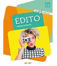 Edito C1 Livro + Cahier (frete Grátis)