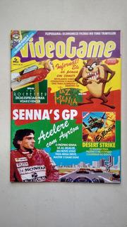 Revista Video Game 17 Taz Mania Senna
