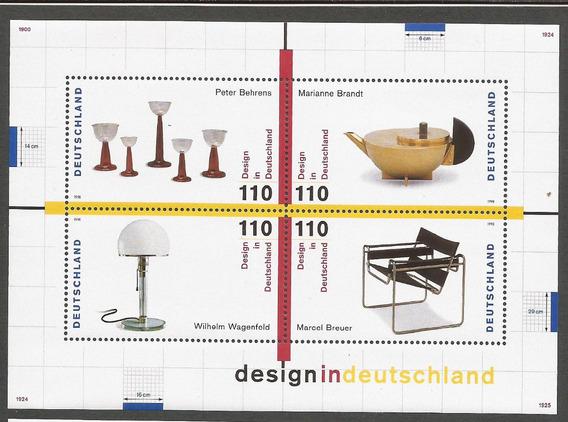 Alemania 1998 Bloque Diseños De Alemania - 133
