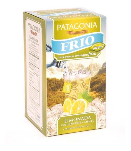 Te Patagonia Premium X 20 Saq. Frio Limonada Jengibre