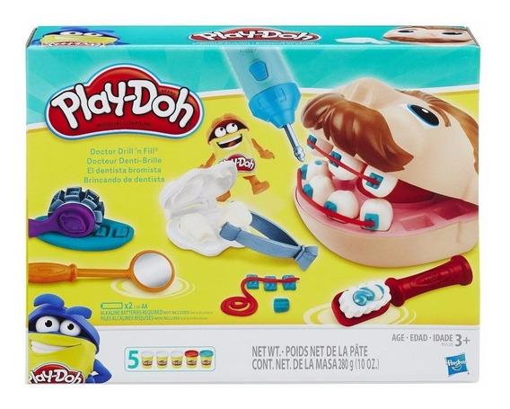 Play-doh Brincando De Dentista - Hasbro