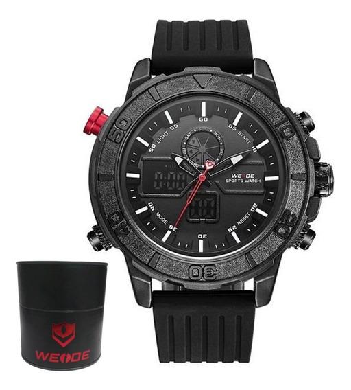 Relógio Masculino Anadigi Weidi 6108 Original C/caixinha Nf