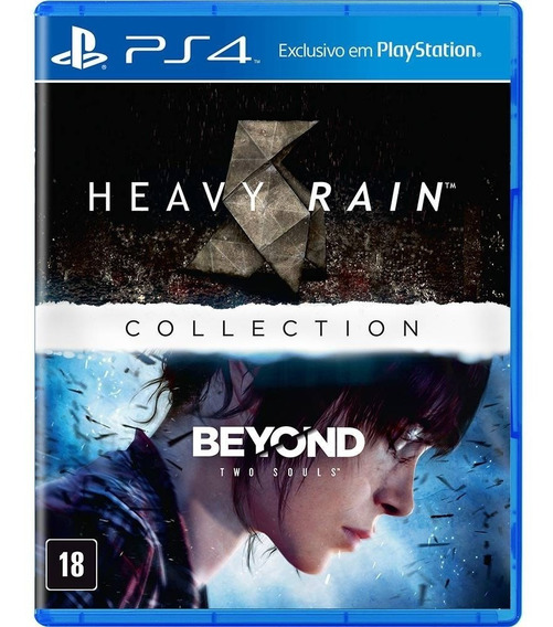 Heavy Rain + Beyond Two Souls Collection - Ps4 - Novo Fisica