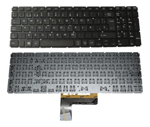 Teclado Toshiba L50-b L50d-b L55-b S50t-b C55-c Español L50b