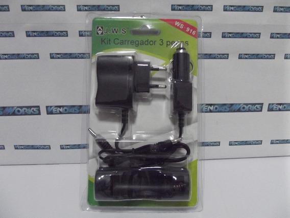 Kit Carregador P Bateria 18650 Bivolt 4x1 C Bateria De Brind