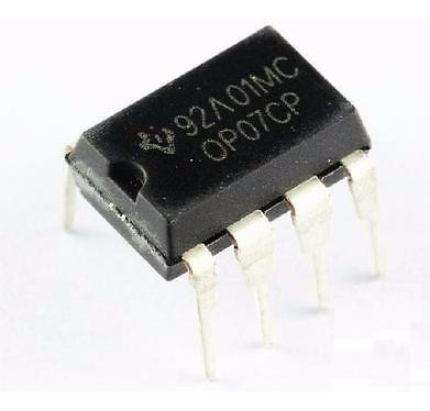 Op07 Op07cp Dip-8 Ic Amplificador De Precision