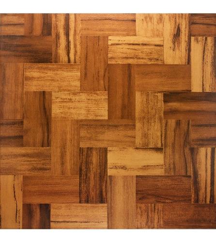 Imagen 1 de 4 de Ceramica 35x35 Madera Parquet- Efectivo-  Servicersa