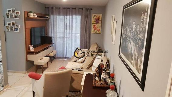 Apartamento Com 3 Dormitórios À Venda, 68 M² Por R$ 380.000 - Vila João Jorge - Campinas/sp - Ap0265