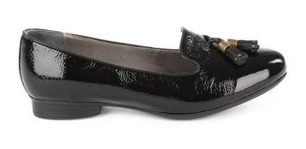 Zapato Onena Mujer Piel Negro 9505