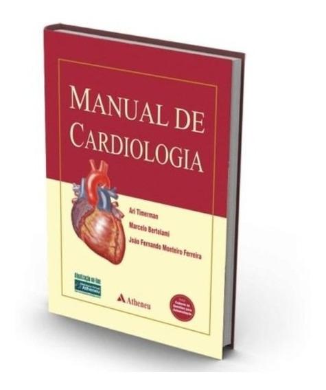Manual De Cardiologia Timerman Medicina Cirurgia Livro Novo