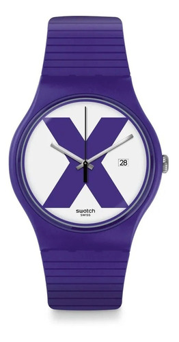 Relógio Swatch Xx-rated Purple - Suov401