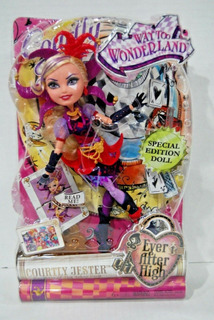 Ever After High Way Too Wonderland Courtly Jester Doll Mib