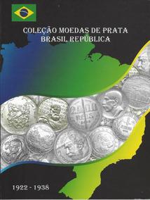 Álbum Para Moedas De Prata Do Brasil República 1922 - 1938