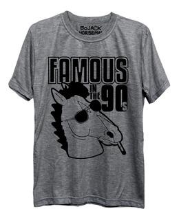 Camiseta Famous In The 90s Bojack Horseman Netflix Freekz