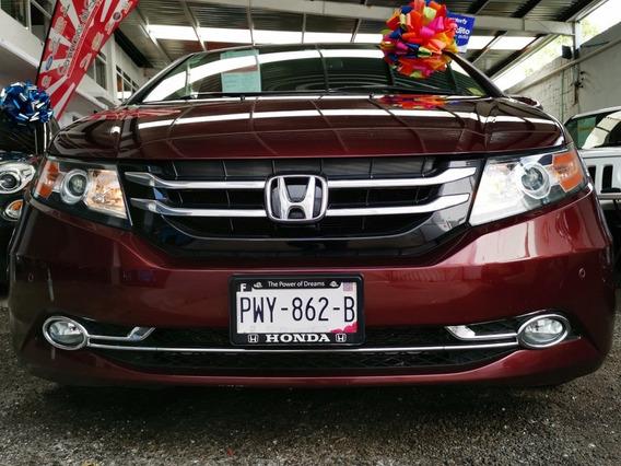 Honda Odyssey Touring Gps Equipada Dvd Piel Coco 8 Pasajero