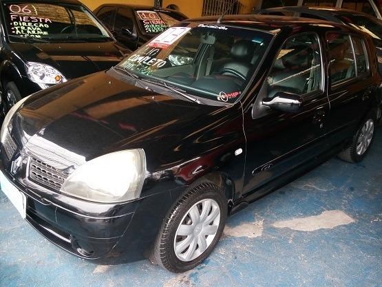 Clio 2003 Preto 4 Portas Motor 1.0