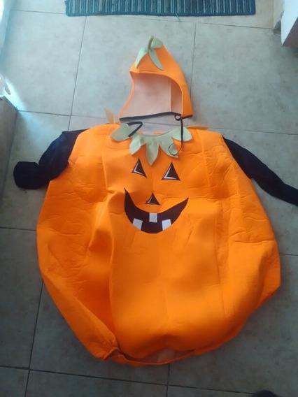 Disfraz De Calabaza Halloween