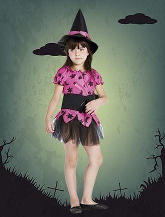 Disfraz Brujita Halloween -candela-talle 3