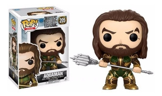 Funko Pop Aquaman Dc Comics #205 Jla Justice League Jl