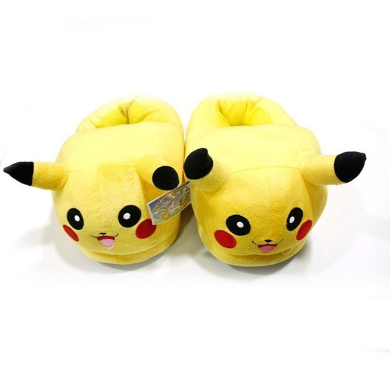 Pantuflas Pikachu Pokemon Envio Gratis
