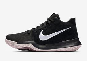 Nike Kyrie 3 Black Red ... Jordan Kobe Lebron Durant Curry