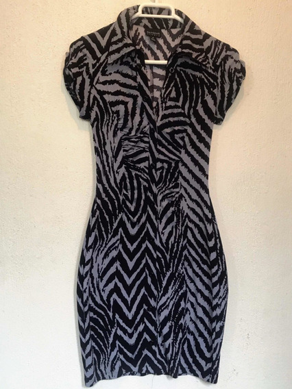 Vestido Zebra Animal Print En Focus