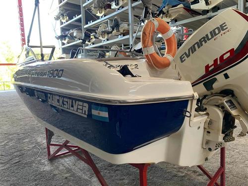 Lancha Quicksilver Marinesur 1800 Motor Evinrude , No 2000