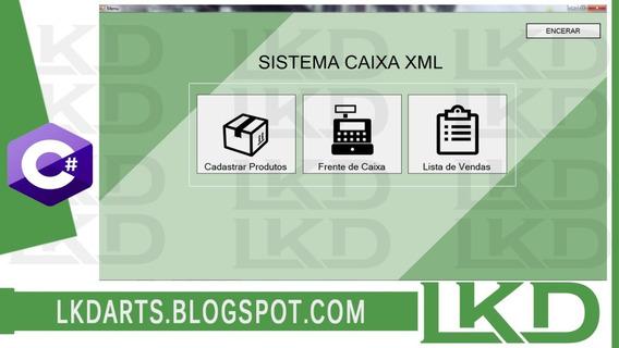 Sistema C# Caixaxml Com Bd Xml - Lkd Arts
