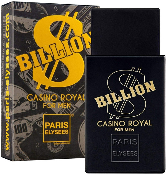 Perfume Paris Elysees Billion Casino Royal 100m