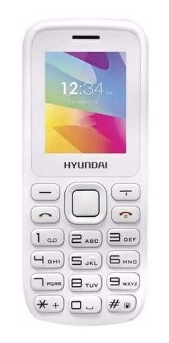 Imagen 1 de 2 de Hyundai D245 Dual SIM 32 MB blanco 24 MB RAM